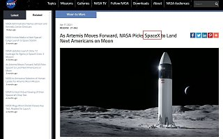 蓝色起源起诉NASA,逼停SpaceX月球着陆器合同|全球快讯